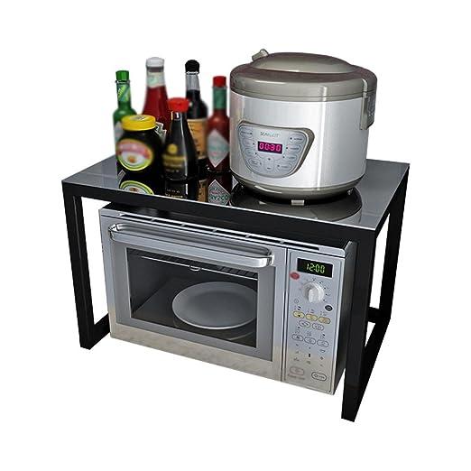 DZW Estantería de Almacenamiento de Cocina estantería de Horno de ...