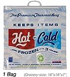 Hot Cold Bag | Insulated Bag | Thermal Bag (1 Grocery Bag)