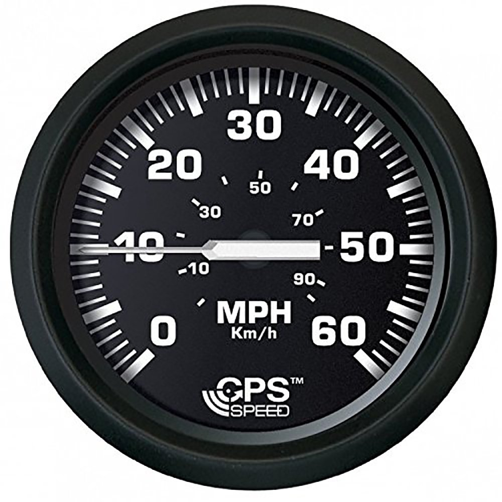 "Amazon.com : Faria Euro Black 4"" Speedometer 60MPH -GPS : Sports & Outdoors"