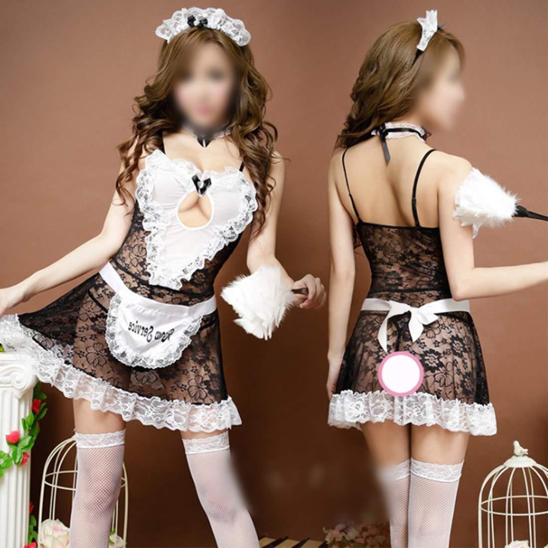 traje de maid japonesa