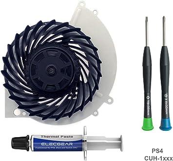 ElecGear Ventilador de Refrigeración para PS4 CUH-1xxx – Nidec ...