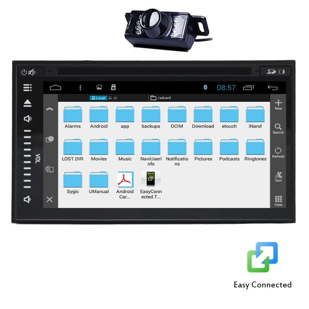 7 inch All-touch Tablet Car Stereo cd dvd player: Amazon co