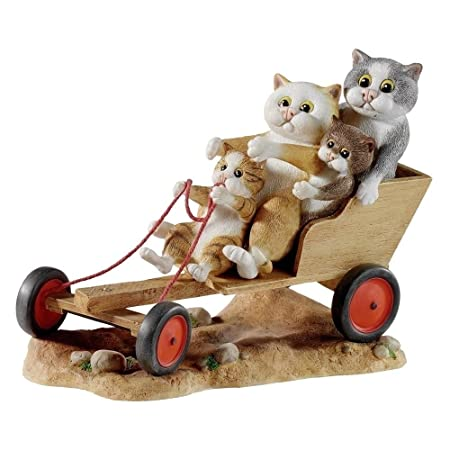 Comic Curious Cats A22913 Go Karting Annual Figurine By Comic