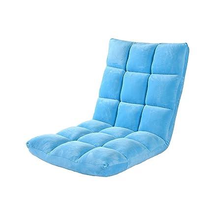 MAGO Silla Plegable Lazy Couch, Taburete de Terciopelo de ...