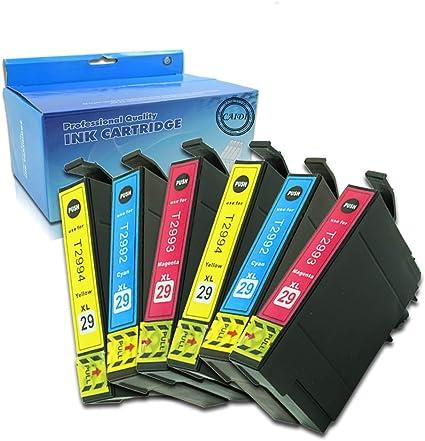 Compatible Epson 29 XL Cartuchos de tinta con nuevo Chip ...