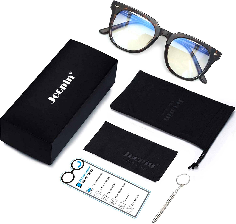 Blue Light Blocking Glasses Joopin Occhiali Anti Luce Blu Uomo e Donna Occhiali da Lettura Antiriflesso per UV PC Gaming Computer