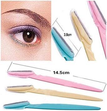 3/Pack Cejas afeitadora Ingles Cejas recortador Eyebrow Razor Trimmer: Amazon.es: Salud y cuidado personal