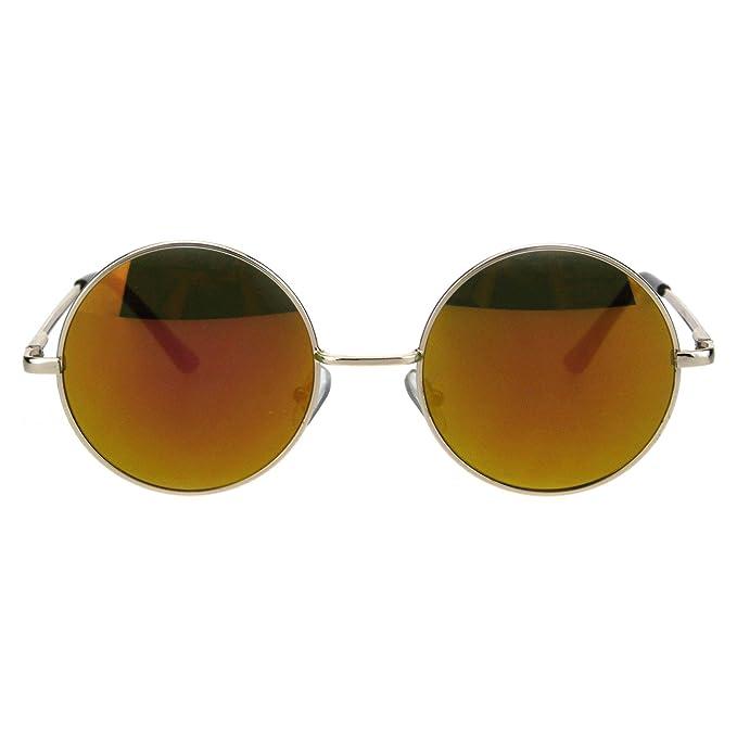 Amazon.com: Gafas de sol Hippie con lente circular ...