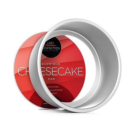 Amazon.com: Last Confection - Molde redondo para tartas de ...