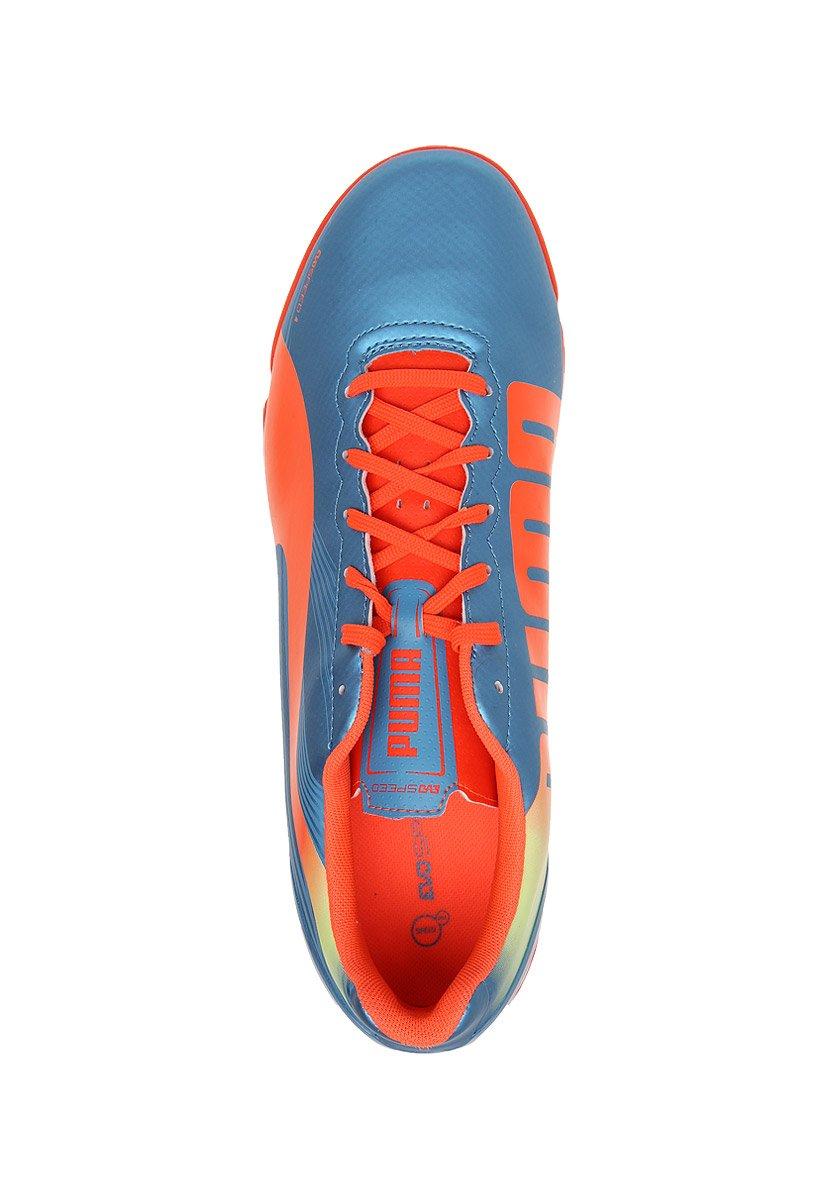 ab9222eaa Puma Tenis Evospeed 4.2 It Liga Tenis para Hombre Multicolor Talla 25   Amazon.com.mx  Ropa