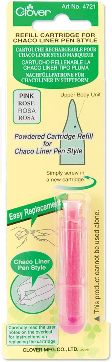 Clover Chalk Refill for Chaco Liner Pen Style Yellow 4723