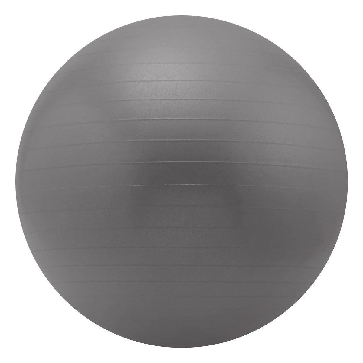Sivan Health & Fitness Yoga Stability Ball and Pump, Grey, 75cm