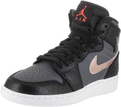 Nike Air Jordan 1 Retro High Bg, Zapatillas de Baloncesto para ...