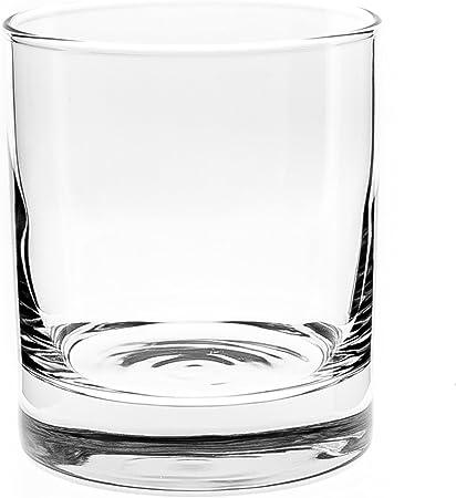 Arcoroc Islande Vaso de Whisky 380ml, sin la Marca de Llenado, 6 Vidrio