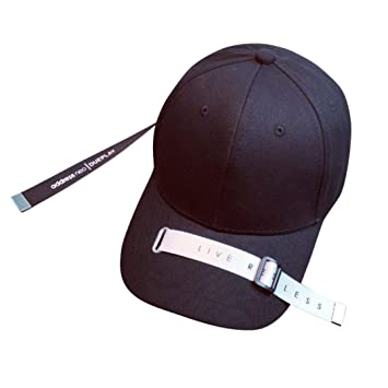 gorras de hombre, Sannysis gorras planas para hombre mujer Sombreros de verano gorras de camionero de Hip Hop gorras ciclismo con correas de decoración, ...