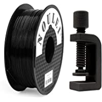 Shading PETG Noulei 3D Printer Filament 1.75mm, High Strength Toughness, Black, 1kg