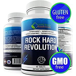 | HB&S Solutions Rock Hard Revolution | Erection Pills for Men | Sex Pill | Male Enhancing Pills Increase Size | Male Performance Enhancement Pills | Male Libido Booster Plus | Male Enchantment Pills
