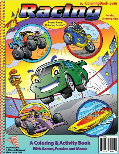 Download Racing Coloring Book (8.5x11) pdf