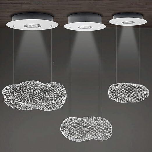 W de brillight LED techo metal Foco colgante Leuchten industriales Deco lámpara iluminación de comedor de