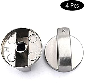 8mm Gas Stove Knobs Universal Cooker Oven Hob Control Switch Control Knobs Oven Switch Cooking Surface Control Knobs,4 Pcs