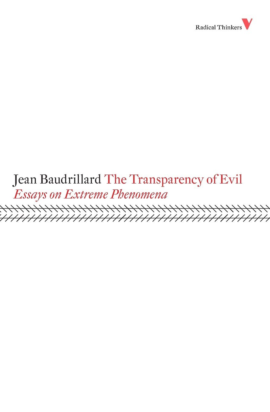 Transparency Evil Radical Thinkers product image
