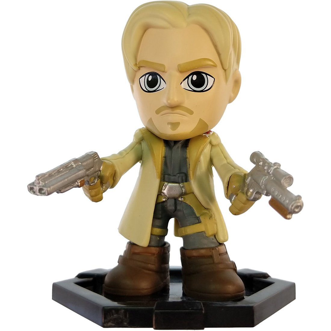 Funko Tobias Beckett: ~2.7 Solo A Star Wars Story x Mystery Minis Mini Bobblehead Figure 28312 1 Official Star Wars Trading Card Bundle