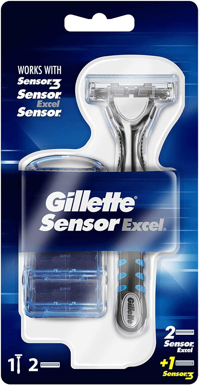 Maquinilla de afeitar Sensor Excel de Gillette: Amazon.es: Salud y ...