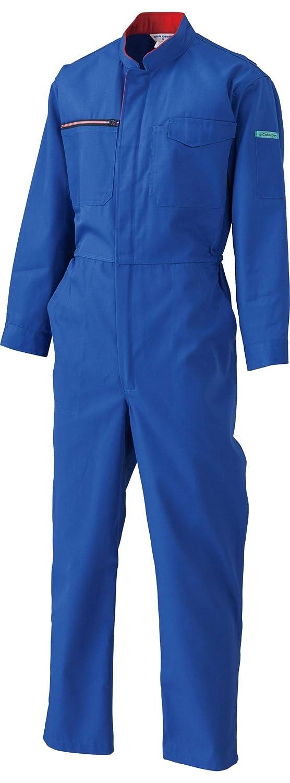 日の丸繊維 帯電防止ツナギ服 681 ブルー 4Lサイズ B0793GS9HL