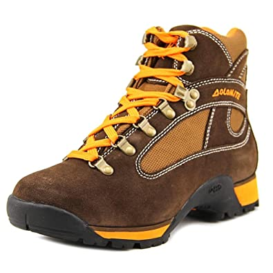 Men's Hawk Pro Brown/Orange Suede Hiking Boot