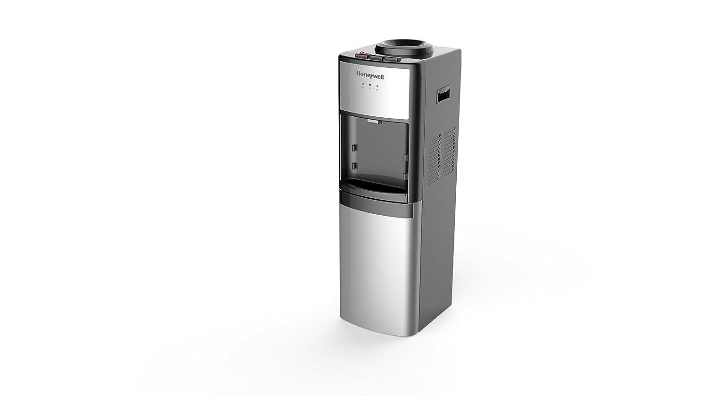 Honeywell hwb1083s 39-inch Independiente dispensador de enfriador de agua de grado comercial, sala, caliente y fría temperaturas con bandeja de 3 posiciones ...