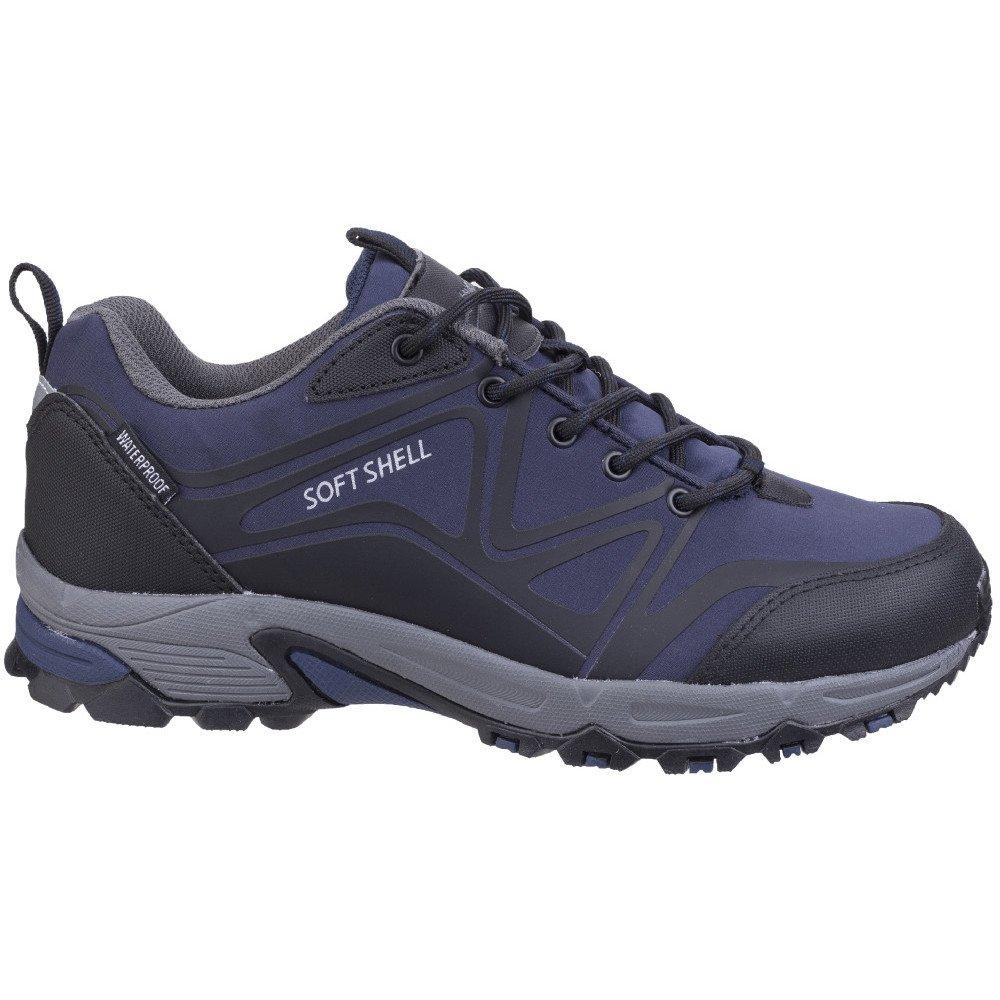 Cotswold Mens Abbeydale Low Hiker Lightweight Hiking Walking Boots 10|Blue/Black/Grey Blue/Black/Grey