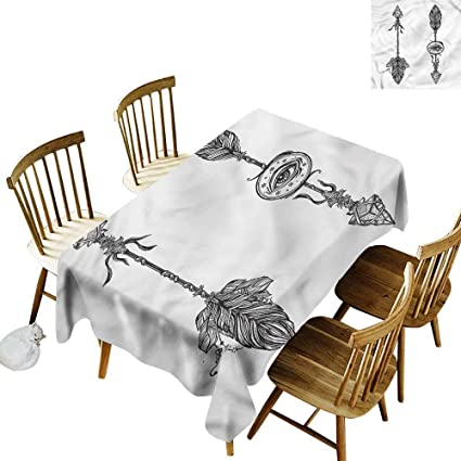 Amazon Com Tim1beve Water Resistant Table Cloth Occult Native
