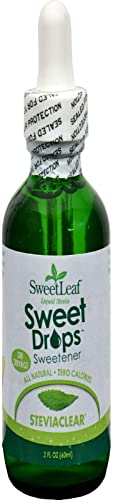 Sweetleaf, Stevia Clear Liquid, 2 Fl Oz