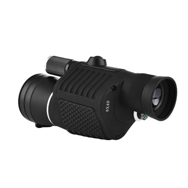 YXXHM- Fokussierung, Monokular, 8x40, High-Definition, Niedrig-Light-Nachtsicht, Taschenlampe, Außenbereich