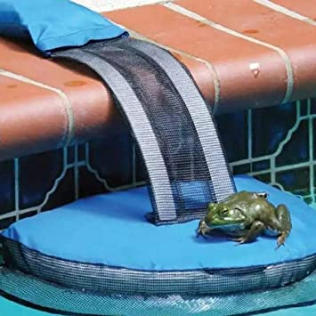 Podazz P/édale flottante pour sauver les animaux de la piscine piscine piscine sauvetage pente sauver les critters dans la piscine appareil pratique