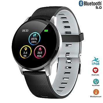 XTHAILIANG Smart Watch Fitness Tracker, Bluetooth Smartwatch IP67 ...