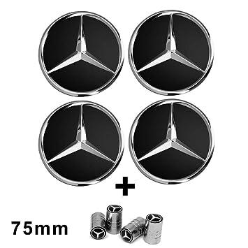 Mercedes-Benz Original amp; AMG Wheel Centre Diameter 74/ /75/mm Black//Silver//Laurel//AMG Radnabenabdeckungen Hub Covers