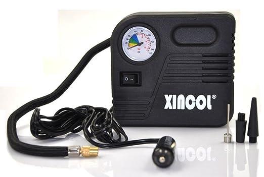 3 opinioni per Xincol, compressore d'aria elettrico, portatile, per le emergenze, 12V, per