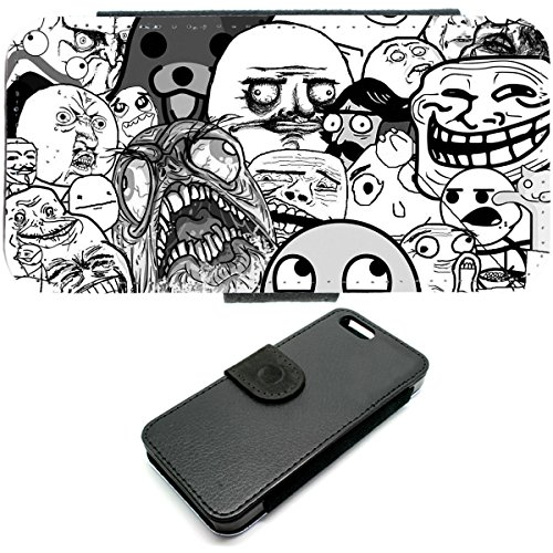 iPhone 6, troll face-memes 4chan case Hardcover internet
