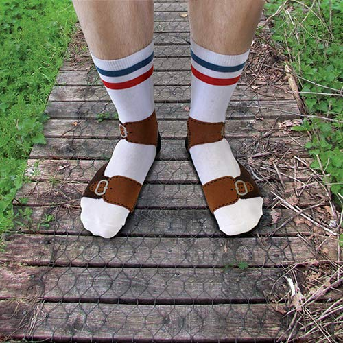 Ginger Fox Novelty Sandal Socks One Size