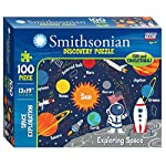 Smithsonian 100-piece 13″ x 19″ Space Exploration Discovery Puzzle