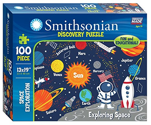 Smithsonian 100-piece Space Exploration Discovery Puzzle
