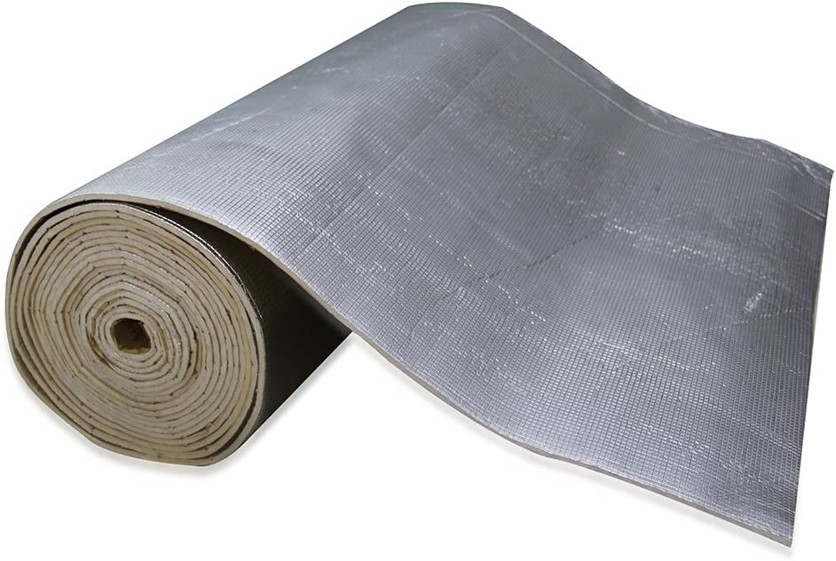 SHINEHOME Heat Shield Sound Deadener Deadening Heat Insulation Mat Noise Insulation and Dampening Mat Heat Proof Mat 72 inches x 40 inches 6mm 236mil 61CLpVzfNELSL1000_