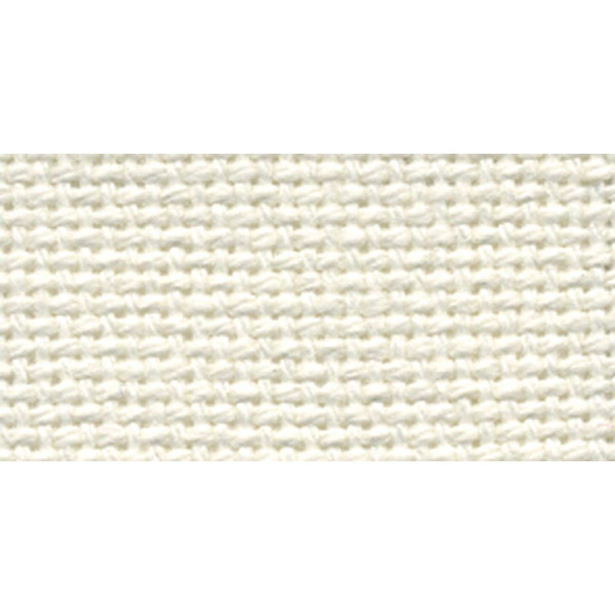 DMC MO0236-0322 Charles Craft 28 Count Evenweave Monaco Aida Cloth, Antique White, 15 by 18-Inch Notions - In Network