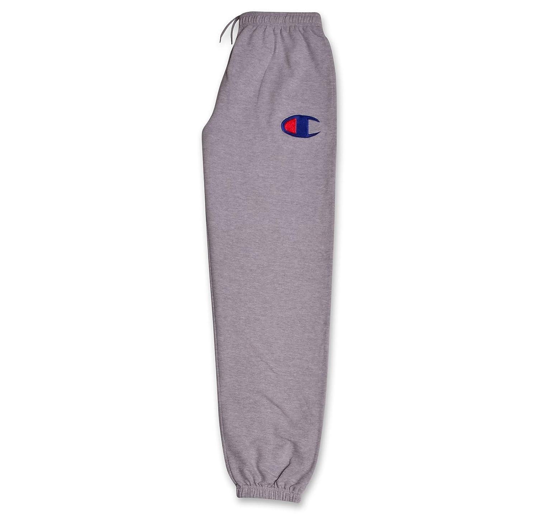 39d10bee Champion Mens Big and Tall Fleece Logo Lounge Workout Sweatpants Big & Tall