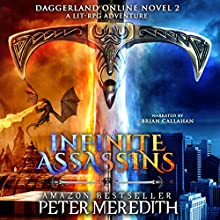 Infinite Assassins: Daggerland Online, Novel 2 Audiobook by Peter Meredith Narrated by Brian Callanan