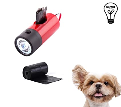 Ducomi® Dispensador para bolsas perro con 2 rollos - Porta ...