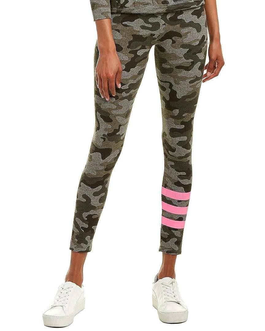 Grey SUNDRY Womens Camo Legging 1