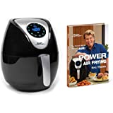 Power Air Fryer XL Deluxe 3.4 Qt with Power Air Frying Hardcover Cookbook by Eric Theiss