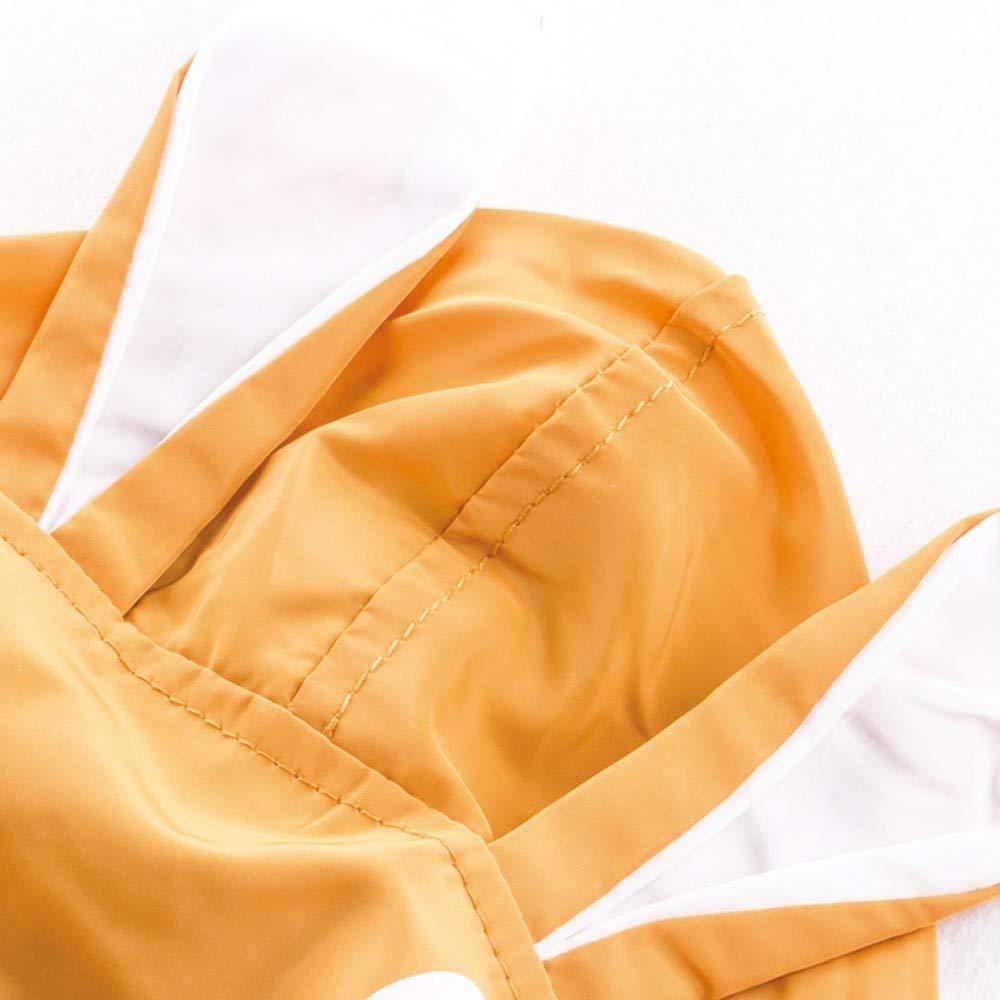 Wenjuan Toddler Kids Unisex Jacket Rabbit Baby Outerwear Coat Autumn Hooded Trench Windbreaker Clothes